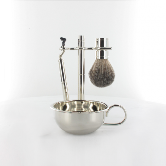 Shaving Set with Bowl