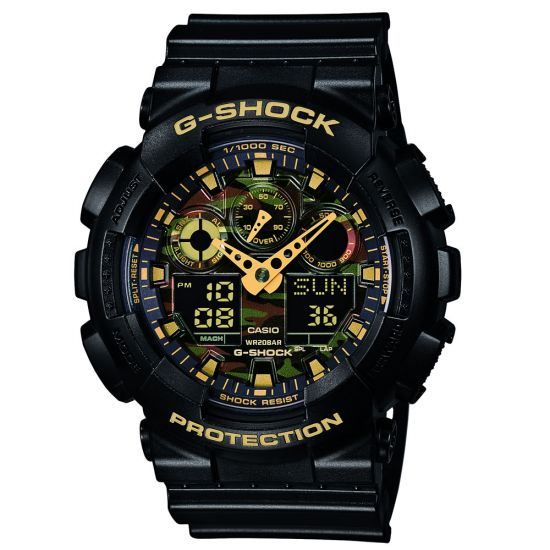 Casio G-Shock Men's GA 100CF 1A9ER Watch