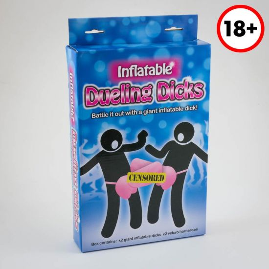 Inflatable Dueling Dicks