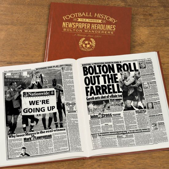 Personalised League One Football Newspaper