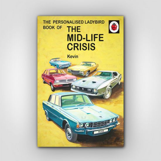 Personalised The Mid-life Crisis: Book for Him 1