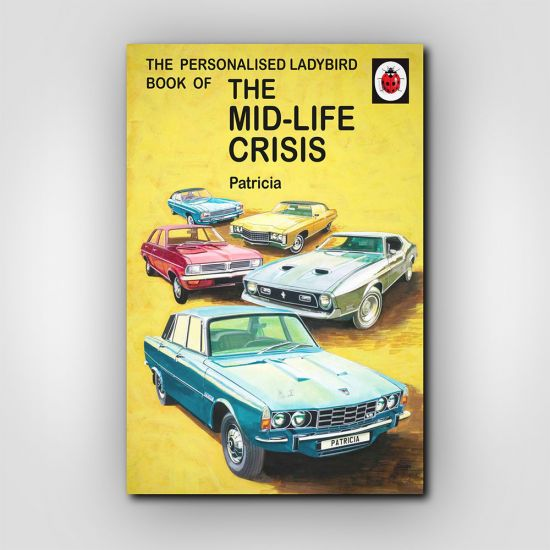 Personalised The Mid-life Crisis: Book for Her 1