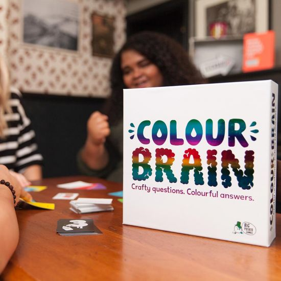 Colour Brain Game - Grey Background