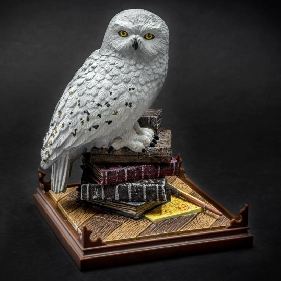 Harry Potter Hedwig Collectible Ornament - Black Background