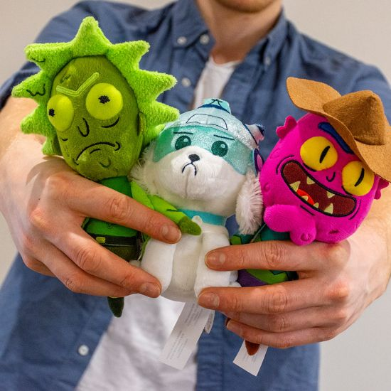 Rick and Morty Assorted 18cm Plush Toy - Lifestyle