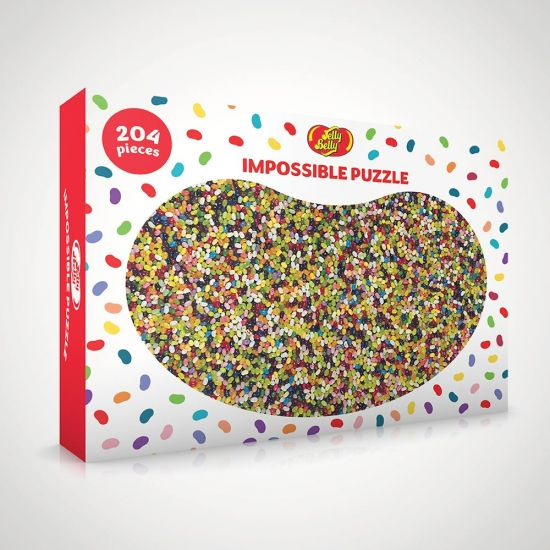 Jelly Belly Impossible Puzzle - Grey Background