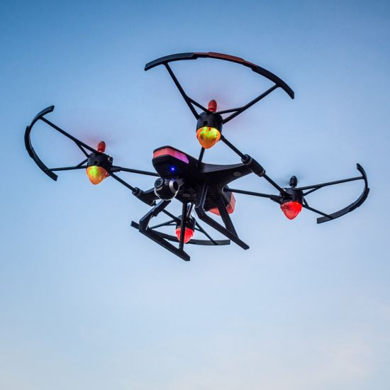 RED5 FX145 Drone in the sky