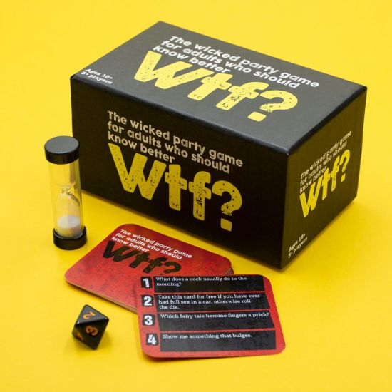 Wtf? – The Party Game for Adults Who Should Know Better