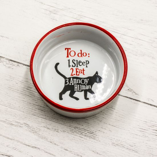 To Do List Cat Bowl