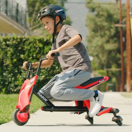 Razor Drift Rider Electric Trike - Lifestyle