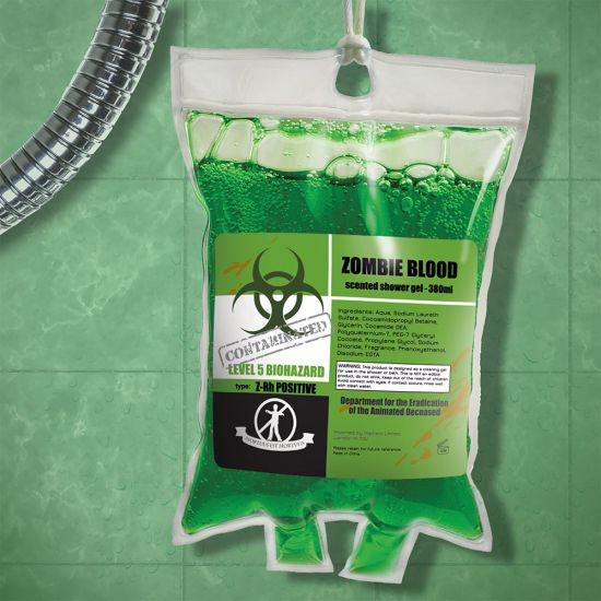 Zombie Blood Shower Gel - Lifestyle