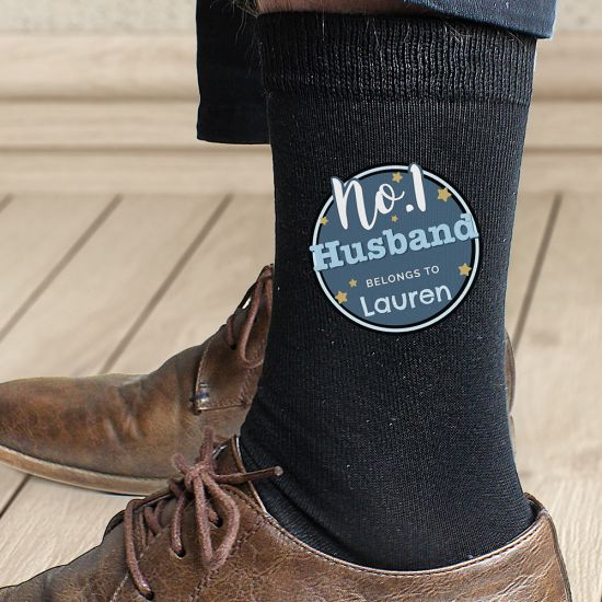 Personalised No. 1 Logo Socks