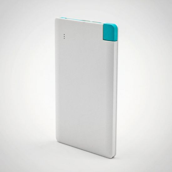 Credit card power bank with type C (in cdu) - Grey Background