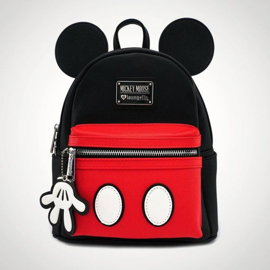 Disney Mickey Mouse Mini Backpack - grey background