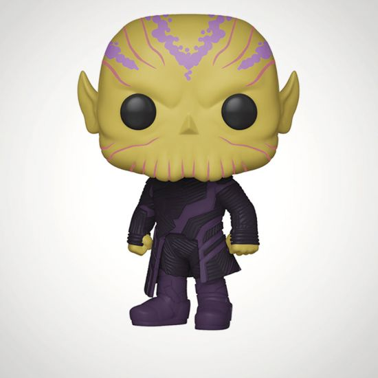 Captain Marvel Talos Pop! Vinyl - Grey Background