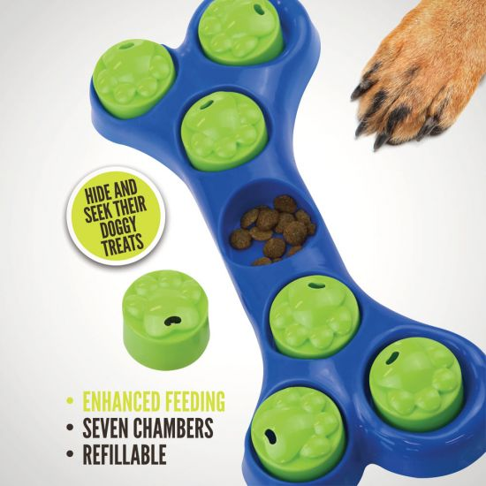 Pet Puzzle – The Search and Snack Dog Toy - Lifestyle