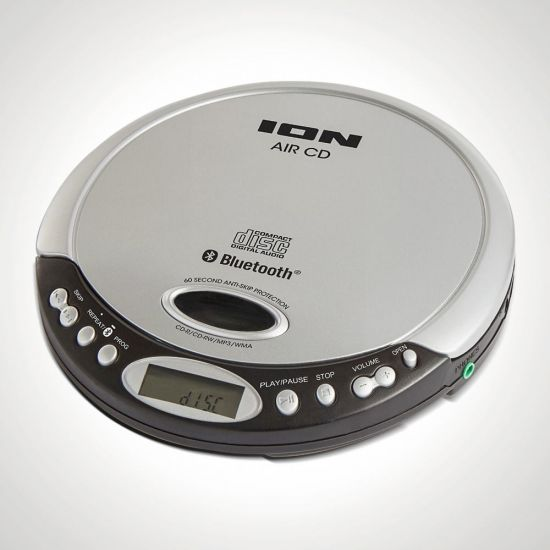 ION Air Bluetooth Portable CD Player - Non-Skip
