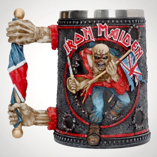 Iron Maiden Tankard - Grey Background