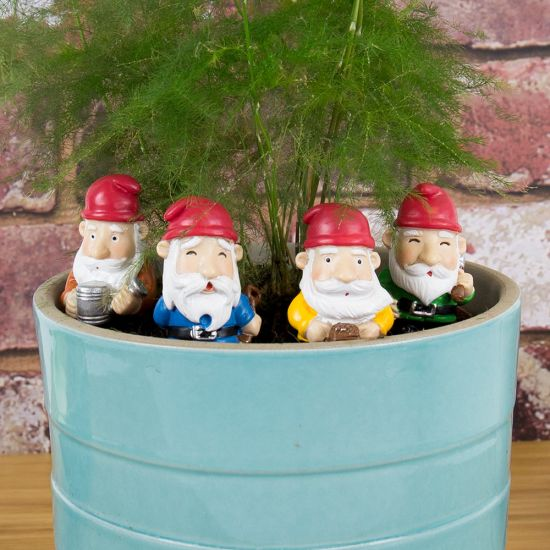 Mini Plant Pot Gnomes - Lifestyle