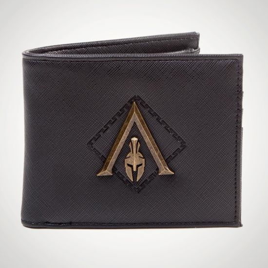 Assassins Creed Odyssey Bifold Wallet - grey background