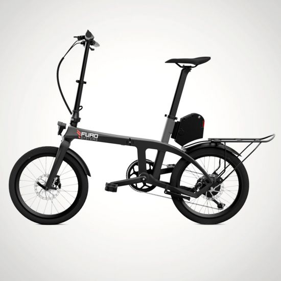 Monkeylectric X Folding Electric Bicycle - side view