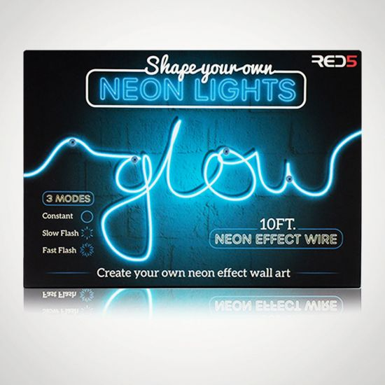 Multifunction Shape Your Own Neon Light - Grey Background
