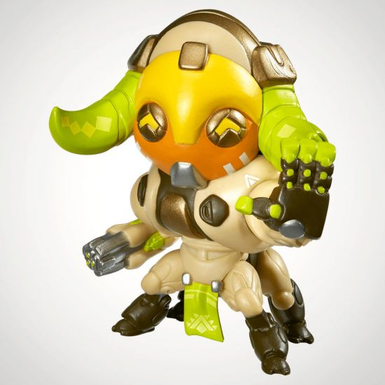 Overwatch Cute But Deadly Orisa Figure - Grey Background