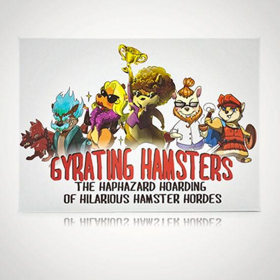 Gyrating Hamsters Game - Grey Background