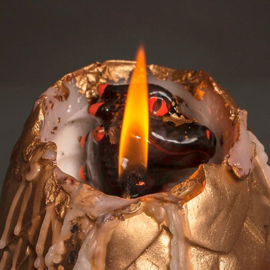 Hatching Dragon Candle - Lifestyle