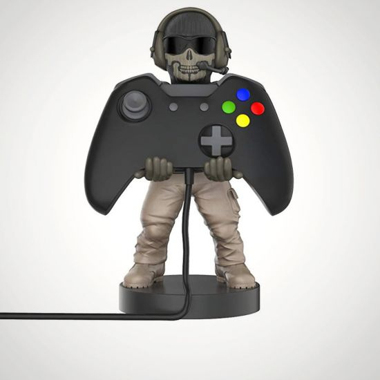 "Call of Duty Simon 'Ghost' Riley 8"" Cable Guy - Grey Background"