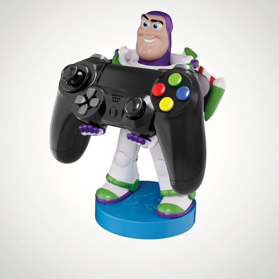 Buzz Lightyear Cable Guy - Grey Background