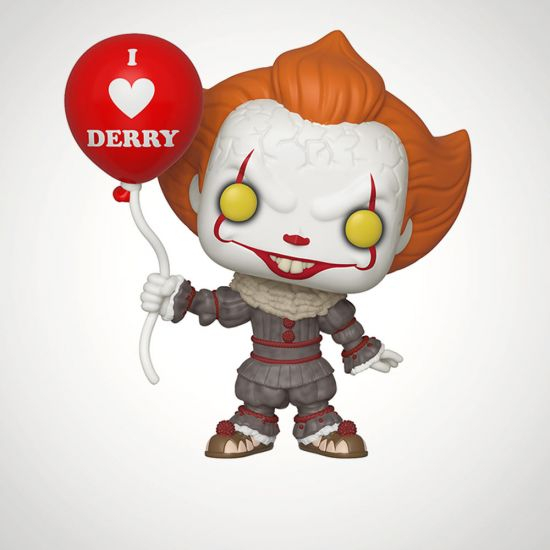 IT Pennywise with Balloon Pop! Vinyl Figure -grey background