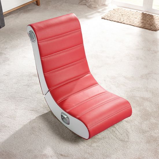 X Rocker Play 2.0 Audio Gaming Chair-Red - Lifestyle