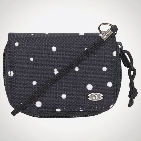 Animal Buzios Zip Around Purse - grey background