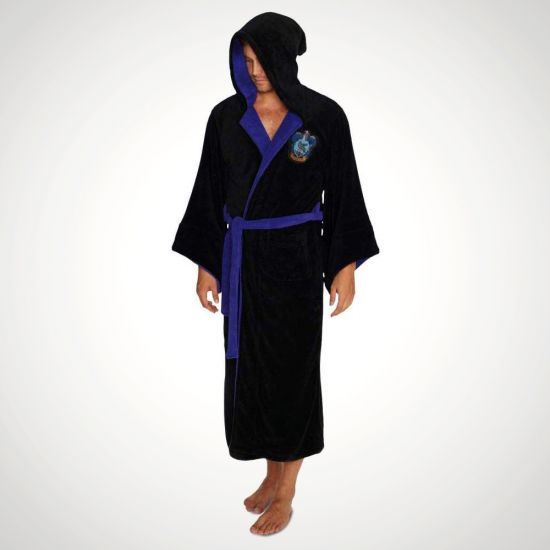 Harry Potter Ravenclaw House Dressing Gown - Grey Background