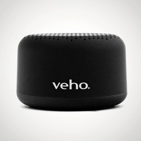 Veho M2 Portable Wireless Bluetooth Speaker - Grey Background