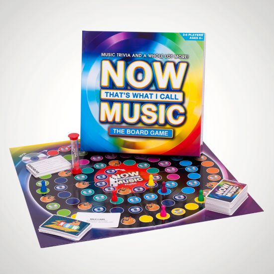 Now That's What I Call Music Board Game - grey background