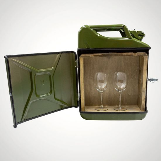 Jerrycan Winebar 20L - Grey Background