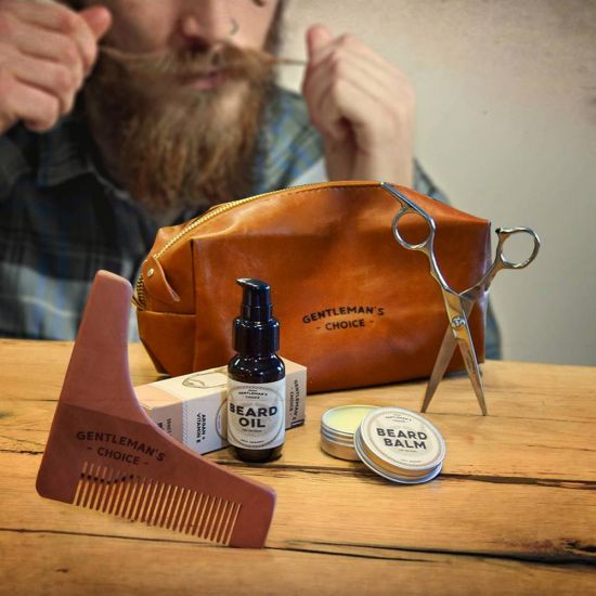 Beard Grooming Kit Deluxe - Lifestyle