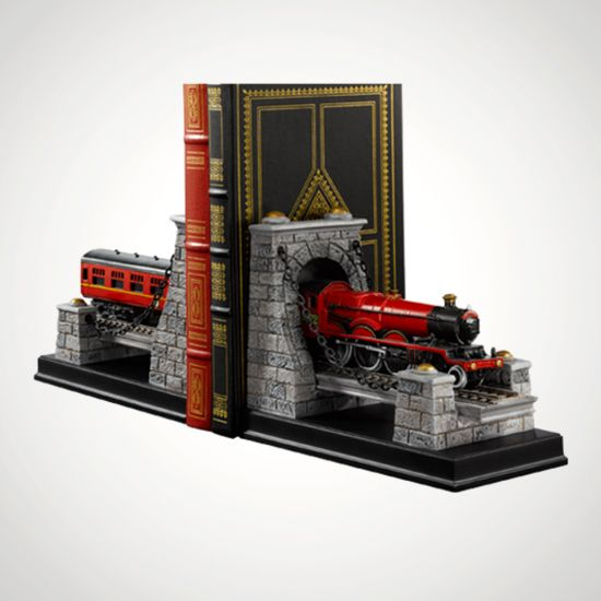 Hogwarts Express Bookends - grey background