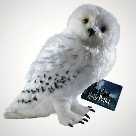 Hedwig Collectors Plush - GREY BACKGROUND