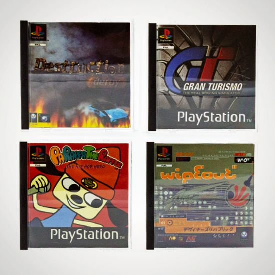 PlayStation One Coasters Volume 1 - Grey background