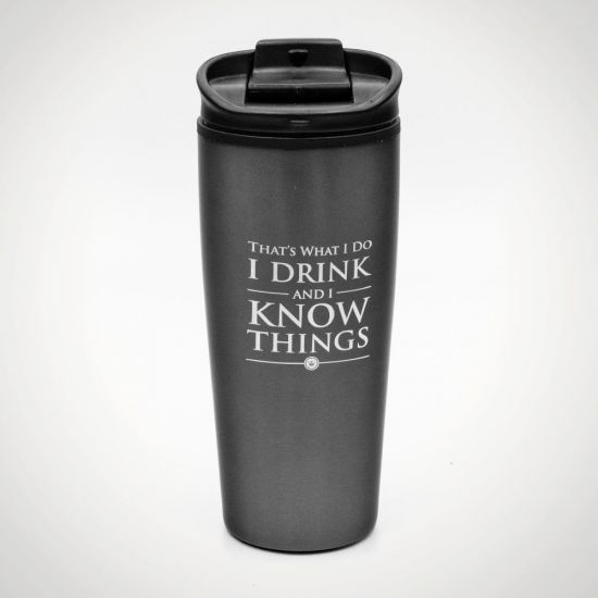 Game of Thrones - I drink and I know things Travel Mug