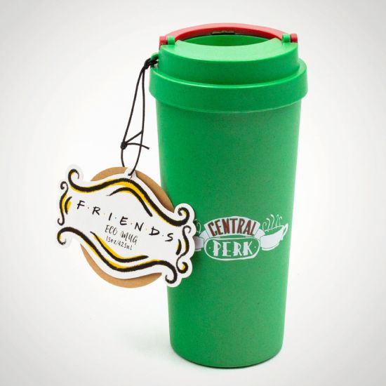 FRIENDS Central Perk Eco Mug - Grey Background