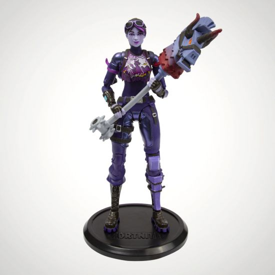 "Fortnite Dark Bomber 7"" Premium Figure - Grey Background"