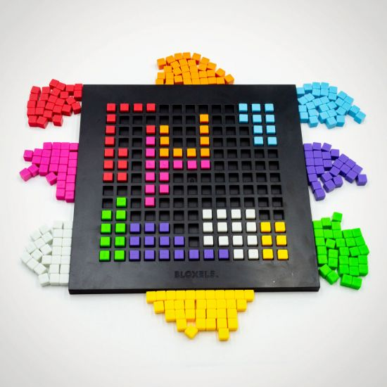 Mattel Bloxels Build Your Own Video Game - Grey Background