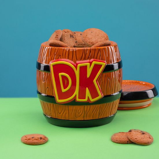 Super Mario Donkey Kong Cookie Jar - Lifestyle