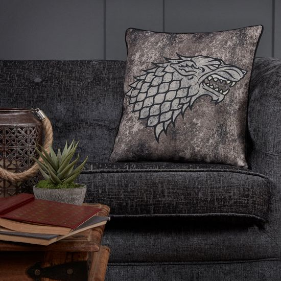 Game of Thrones Stark Cushion-Lifestyle