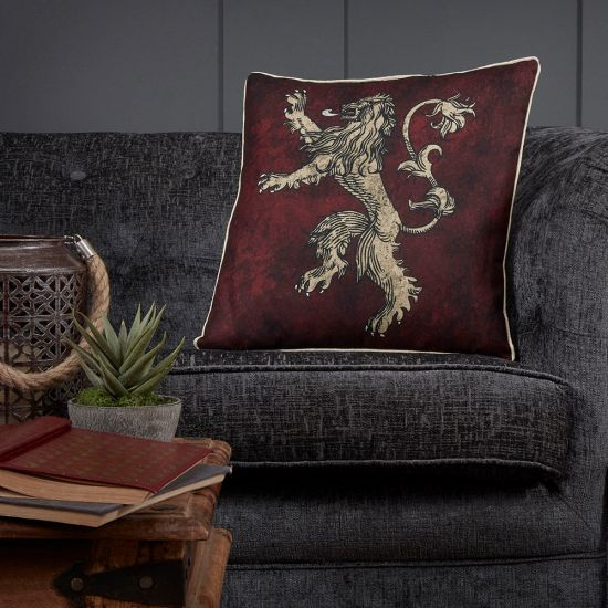 Game of Thrones Lannister Cushion-Lifestyle