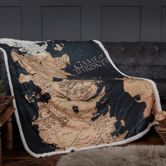 Game of Thrones Westeros Blanket-Lifestyle
